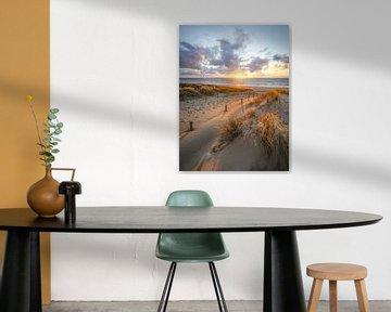 Zon, zee en wolken aan de kust van Dirk van Egmond