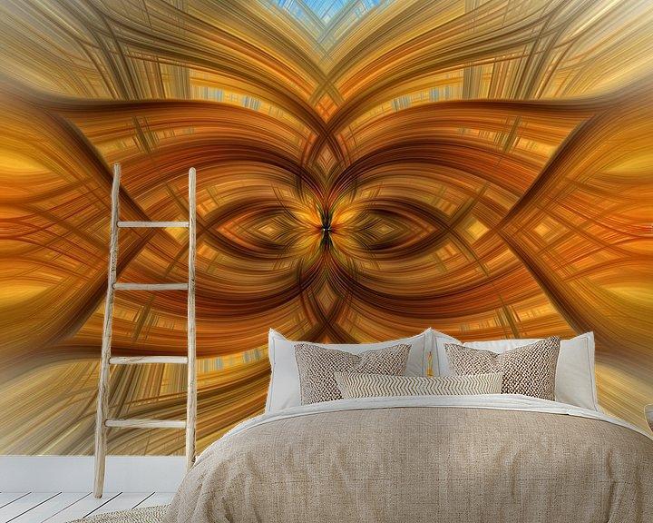 Sfeerimpressie behang: Lotus 7 van Jan van Reij