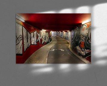 Fietstunnel Scharnerweg Maastricht van Evert Jan Luchies