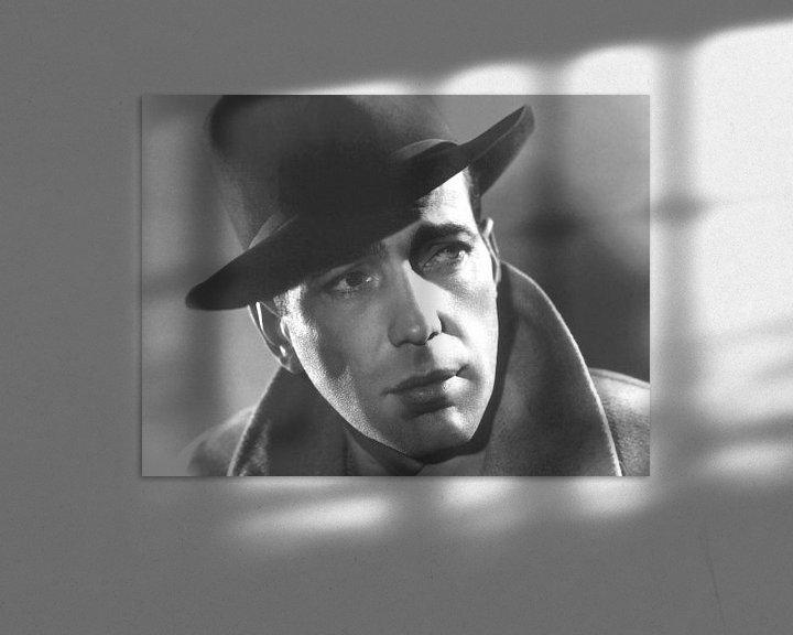 Beispiel: Dirk Bogarde von Brian Morgan