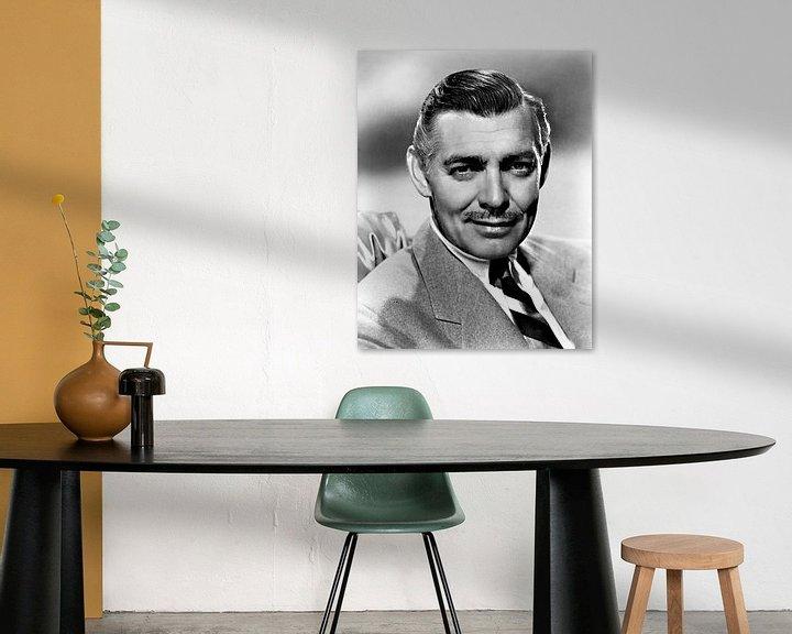 Beispiel: Clark Gable von Brian Morgan