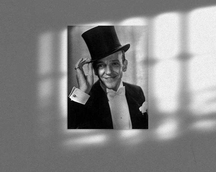 Beispiel: Fred Astaire von Brian Morgan