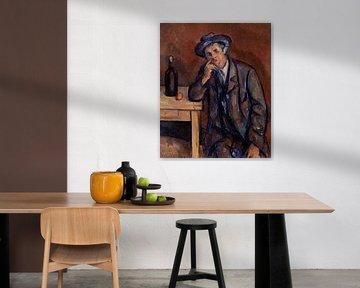 Cézanne, Der Trinker (ca. 1898-1900) von Atelier Liesjes