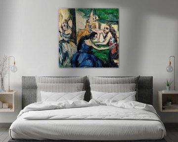 Cézanne, Die Prostituierten (ca. 1867-1868) von Atelier Liesjes