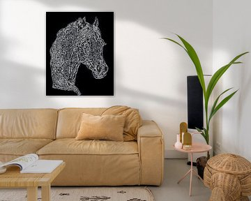 Pferdekopf von Jose Lok
