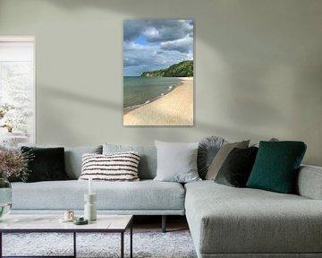 am Kap Nordperd in Göhren von Peter Eckert