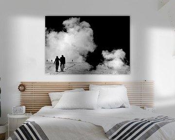 Walking on clouds van Irene Lommers