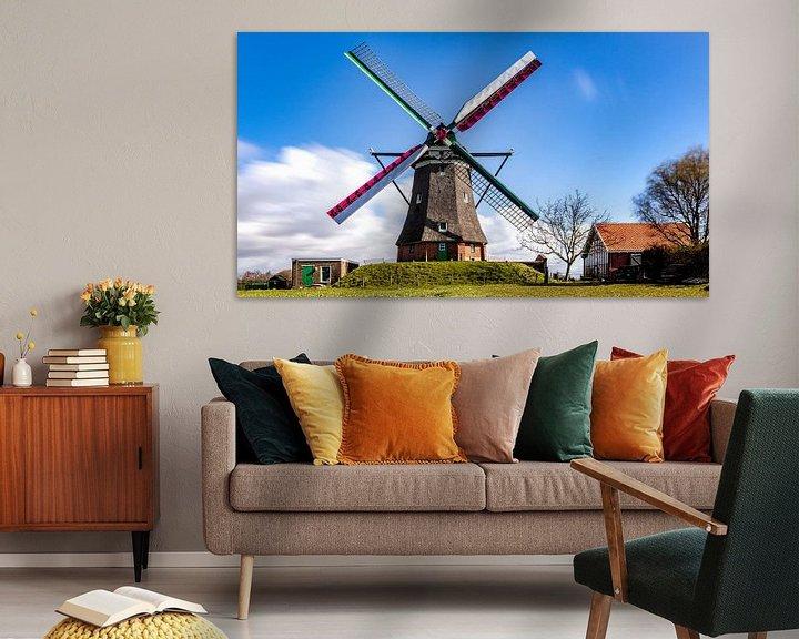 Sfeerimpressie: Zeeuwse molen de Blazekop van Fotografie in Zeeland