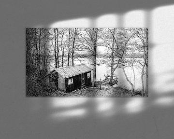 Die Hütte am See von Heiko Westphalen