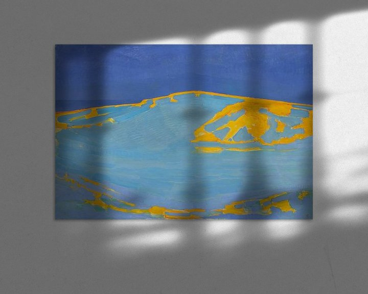 Beispiel: Sommer, Düne in Zeeland, Piet Mondrian