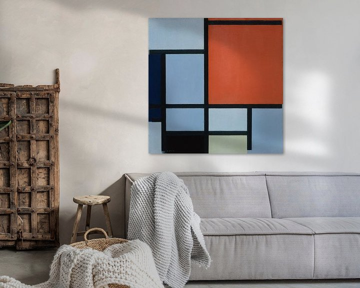Beispiel: Komposition (1921), Piet Mondrian