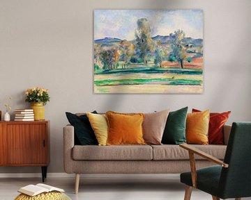 Herbstlandschaft, Paul Cézanne (ca. 1883-1885) von Atelier Liesjes
