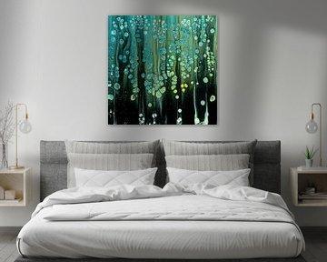 Der blaue Wald. von Ilse Smit