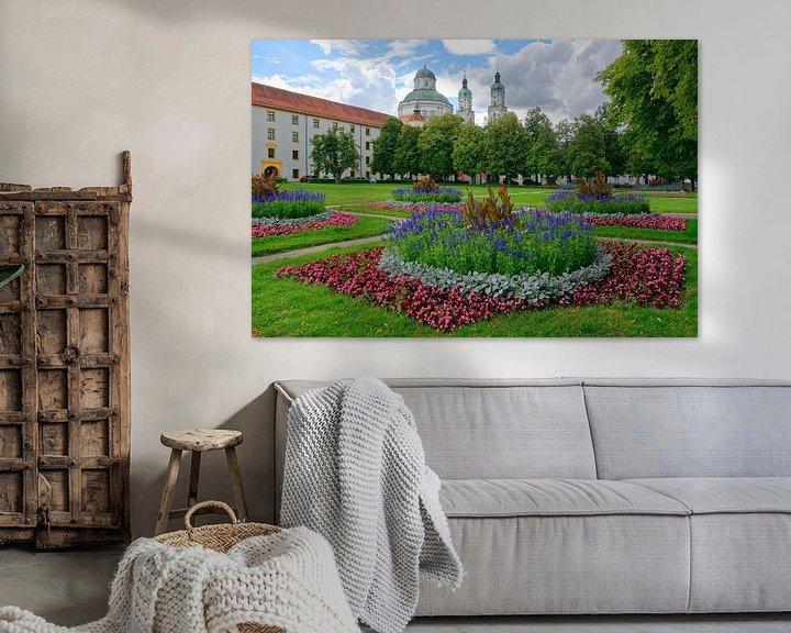 Impression: Jardin de cour baroque à Kempten sur Gisela Scheffbuch