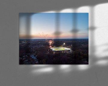 Stadion de Vijverberg 8 van Gerrit Driessen