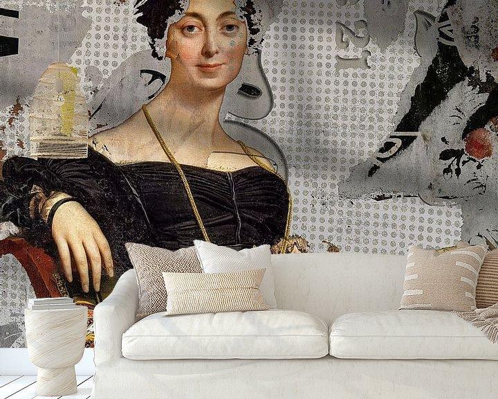 Beispiel fototapete: Madame Jacque von Gabi Hampe