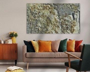 Kristallen in Zout - Haliet - Zoutafzetting - Abstract - Figuratief - Schilderij