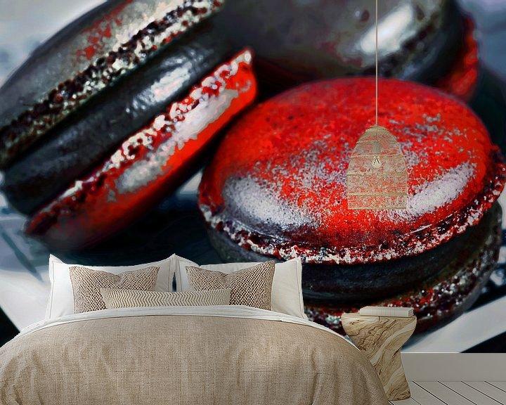 Beispiel fototapete: Macarons von Frank Dotulong