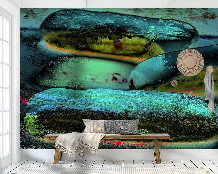 Sfeerimpressie behang: Eclairs van Frank Dotulong