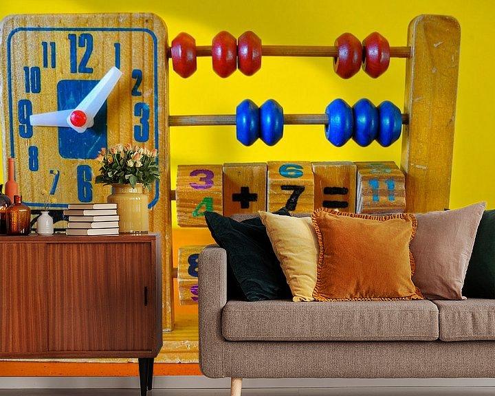Sfeerimpressie behang: Nostalgisch speelgoed van Picture Partners