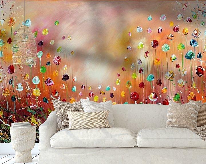Beispiel fototapete: Blumen von Gena Theheartofart