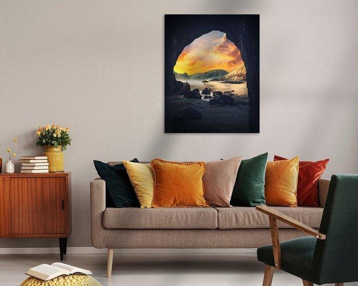 Sfeerimpressie: Dromerig landschap. van Roman Robroek