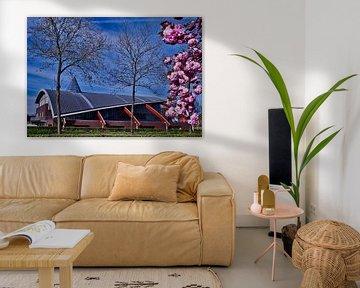 Gebouwen. in Weert limburgs Nederland van J..M de Jong-Jansen