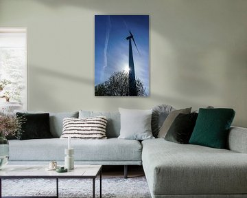 windmolen  ecopark van Pixel Meeting Point