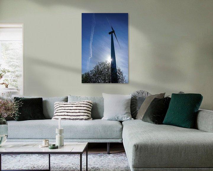 Sfeerimpressie: windmolen  ecopark van Pixel Meeting Point