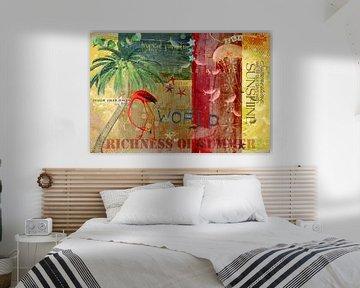 Tropisches Paradies von Carla van Zomeren