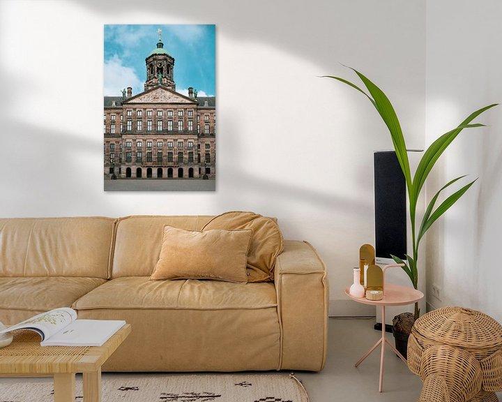 Impression: Le palais royal (hôtel de ville) sur la place Dam, Amsterdam sur Roger VDB