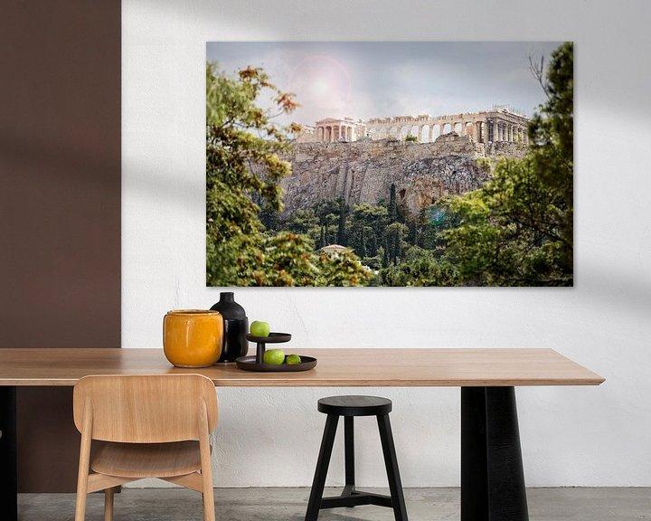 Impression: Acropole d'Athènes sur Miranda van Hulst