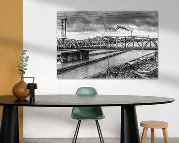 Alte Eisenbahnbrücke von Joel Houbrigts