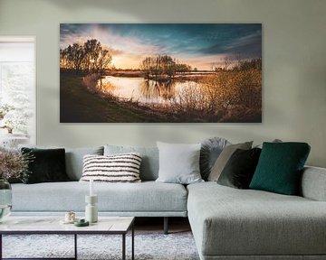 Natuur rondom Zwolle van S van Wezep