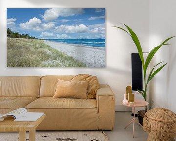 am Strand von Juliusruh von Peter Eckert