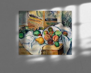 Paul Cézanne, Eine Ecke des Tisches (ca. 1895) von Atelier Liesjes