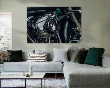 Harley Davidson Police engine part van Gerrit Driessen