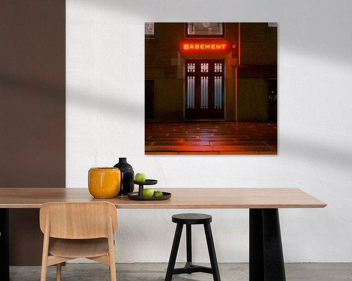 Sfeerimpressie: Basement, Hotel NY, Rotterdam van Vincent van Kooten