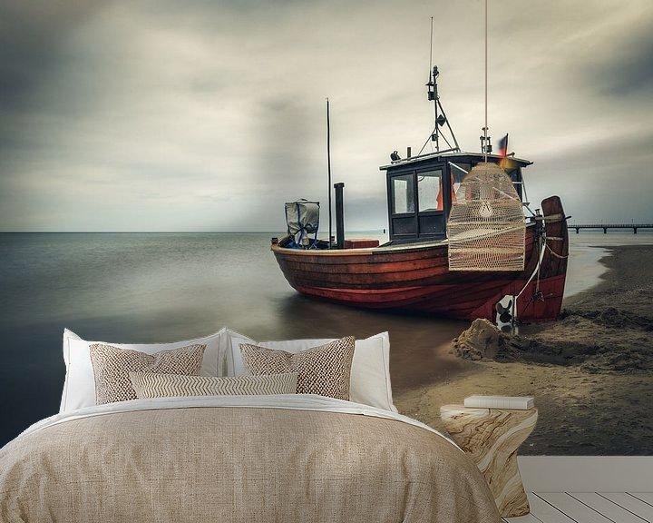 Beispiel fototapete: Fischkutter in Ahlbeck von Skyze Photography by André Stein