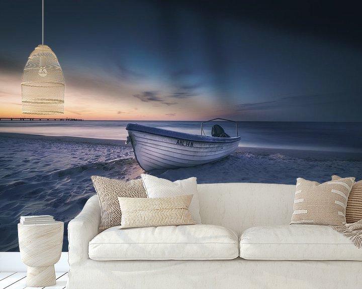 Beispiel fototapete: Kutter am Strand von Skyze Photography by André Stein