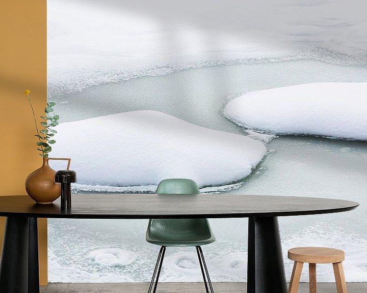 Impression: Paysage hivernal minimaliste sur Frank Herrmann