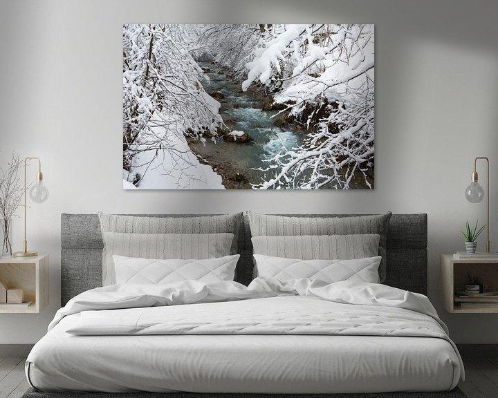 Impression: Rivière d'hiver sur Frank Herrmann