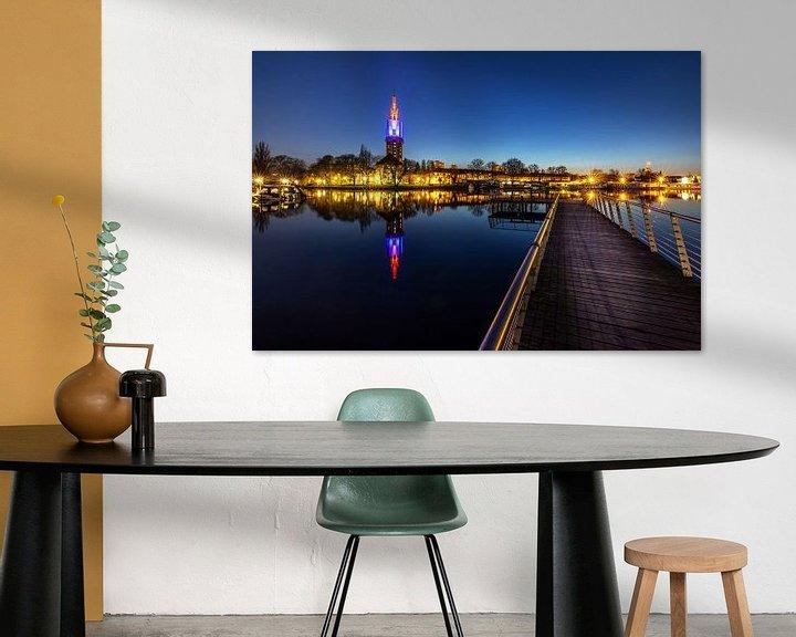 Impression: La ligne d'horizon de Potsdam à l'heure bleue sur Frank Herrmann