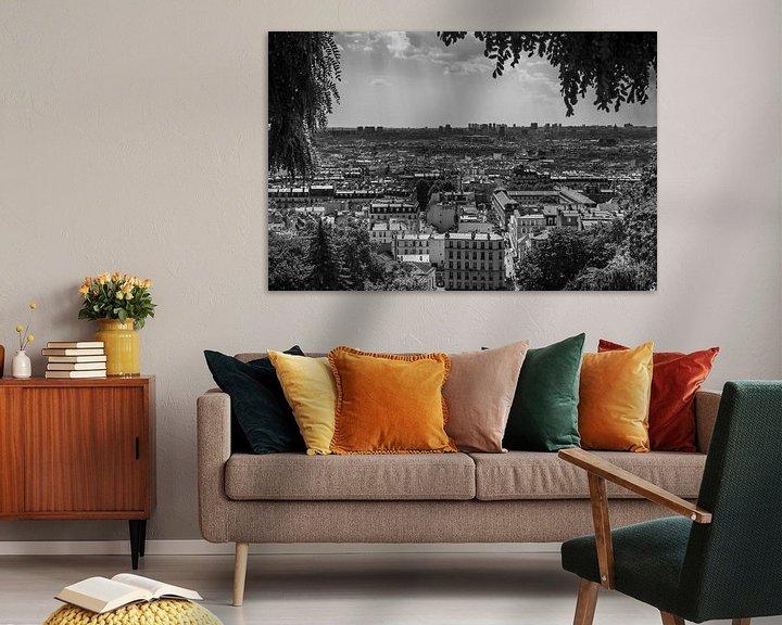 Sfeerimpressie: Uitzicht over Parijs van Vincent de Moor