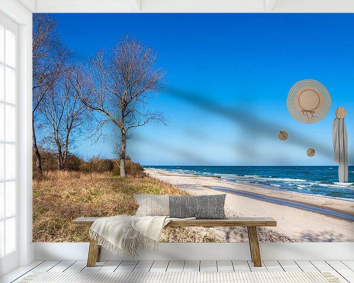 Beispiel fototapete: Bäume an der Küste der Ostsee bei Kühlungsborn von Rico Ködder
