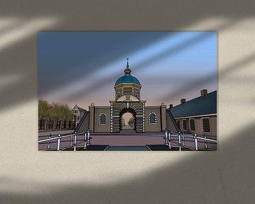 Morschpoort Leiden van Jordy Kortekaas