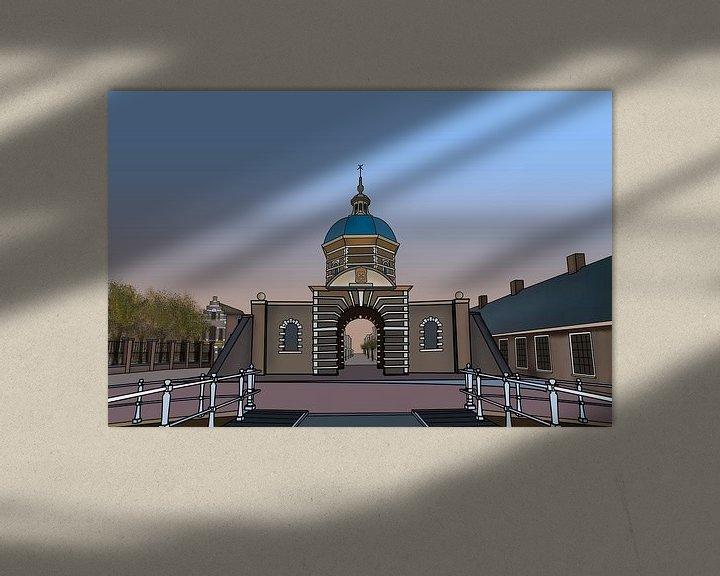 Sfeerimpressie: Morschpoort Leiden van Jordy Kortekaas