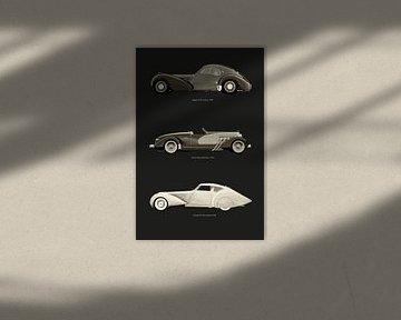 Revolutinaire Europese auto-ontwerpen II van Jan Keteleer