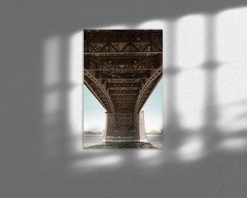 Waalbrug Nijmegen, nostalgisch van Vincent de Moor