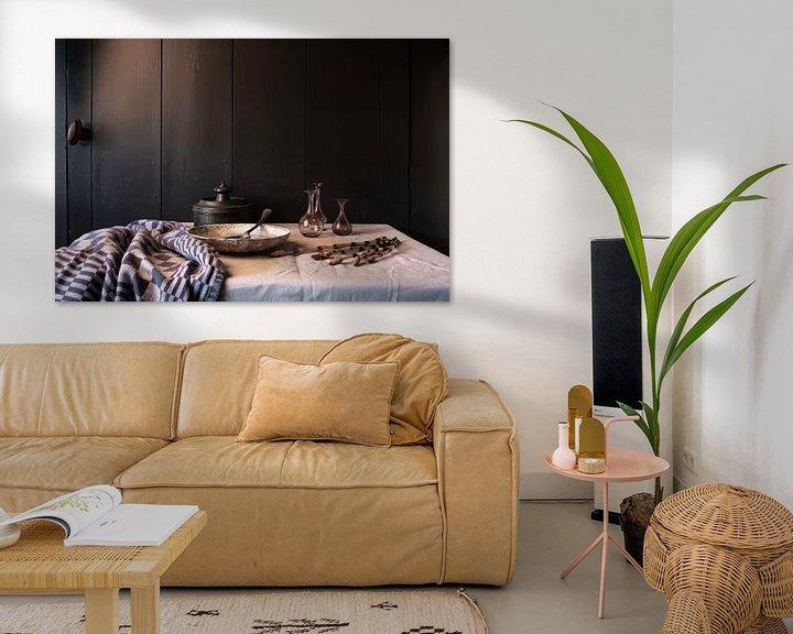 Beispiel: Altniederländisches Stillleben mit Zinn und Glas von Affect Fotografie